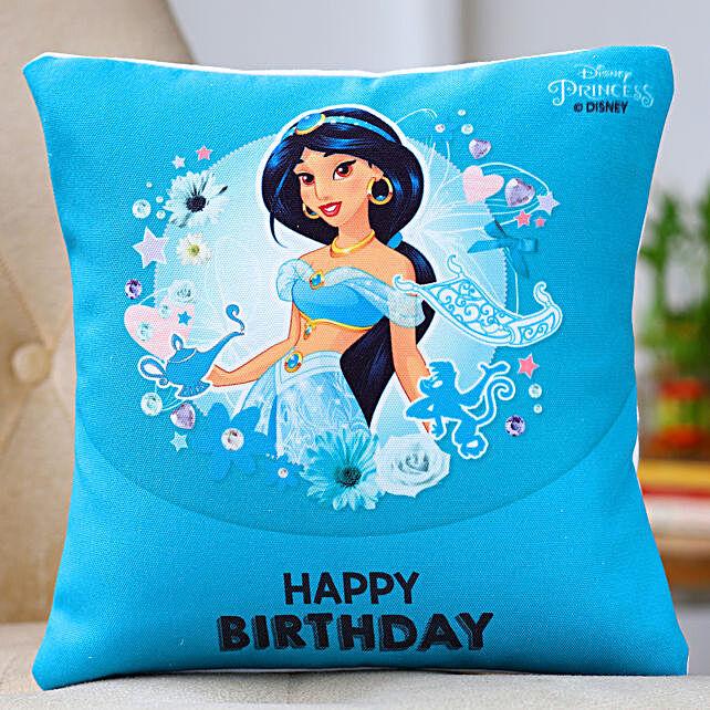 Disney Jasmine Birthday Cushion