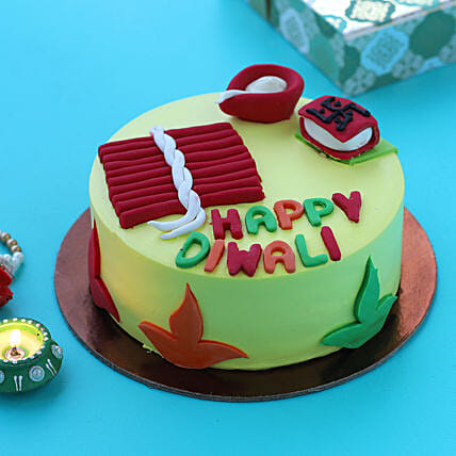 diwali cracker cake online