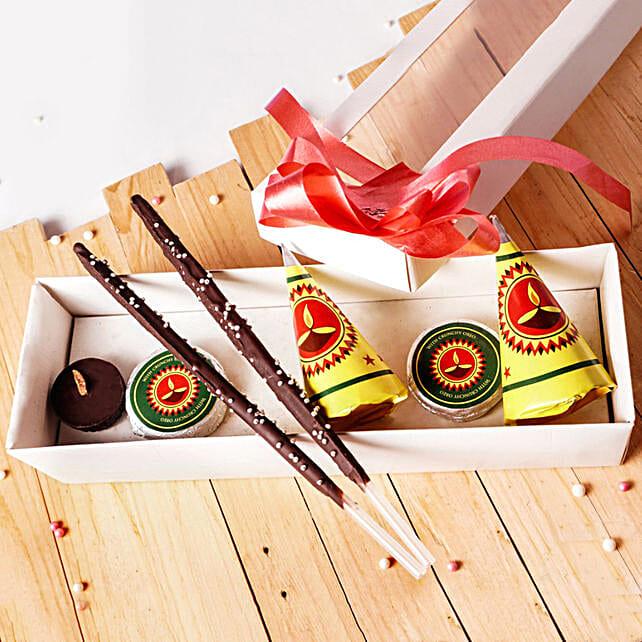 Diwali Crackers Chocolate Box 7 pcs