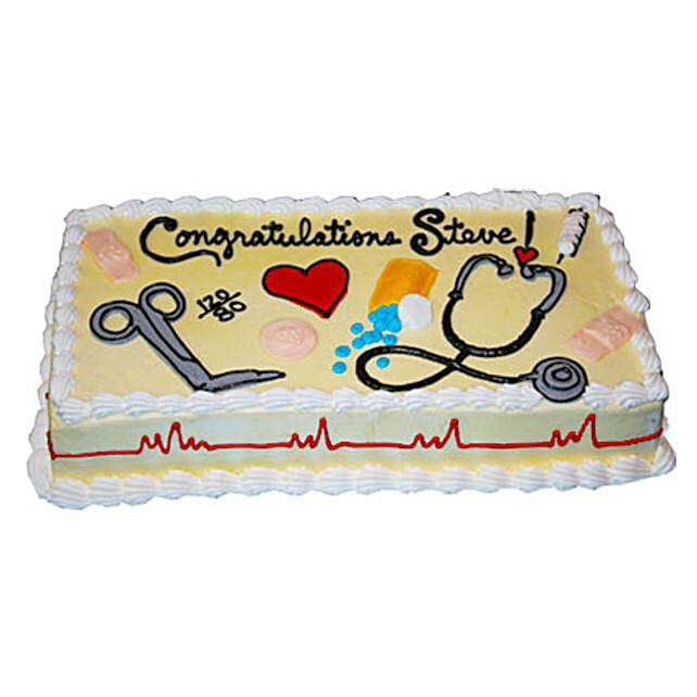 Doctors magical tools Cake 1kg Chocolate Eggless