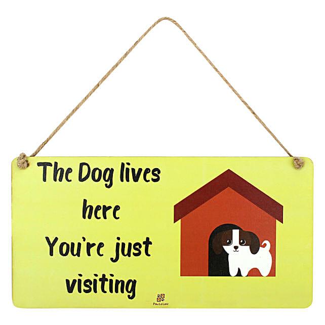 Door Hanging For Dog Lover:Pet Gifts