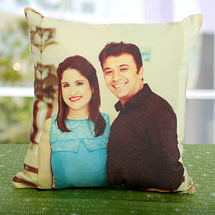 Dual Personalized Cushion:Aunt & Uncle's Day Gifts