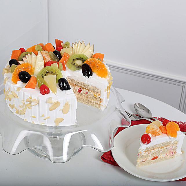 Effervescent Fruit Cake Half KG Eggless