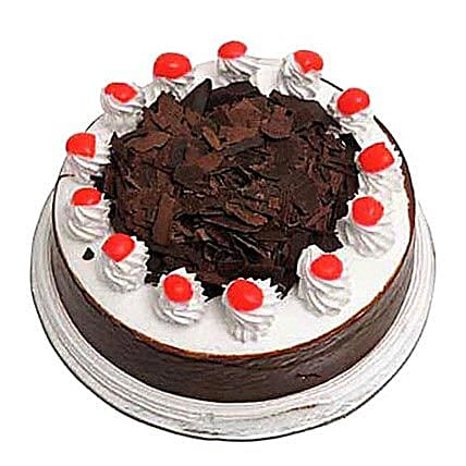 Eggless Black forest Cake 1Kg by FNP