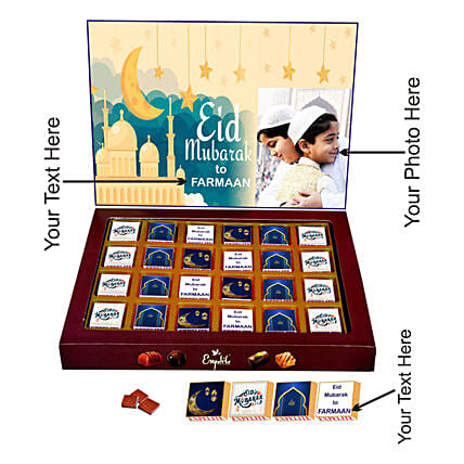 Eid Special Personalised Chocolate Box