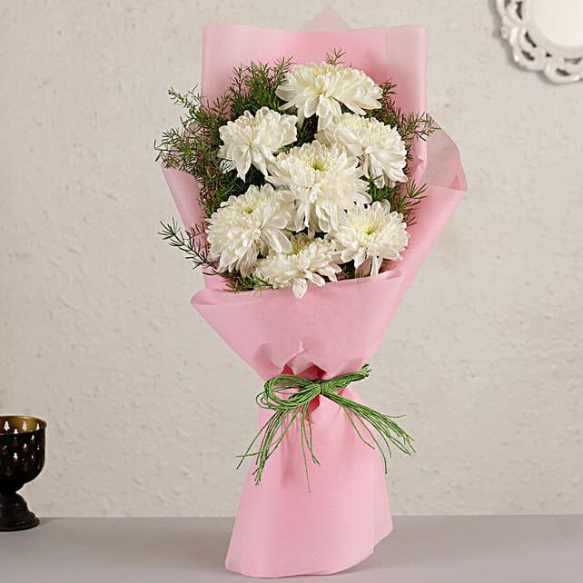 Elegant Chrysanthemum Bouquet:Chrysanthemum Flower