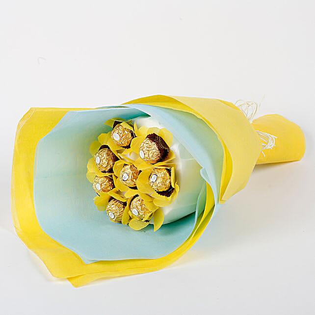 delicious chocolate bouquet