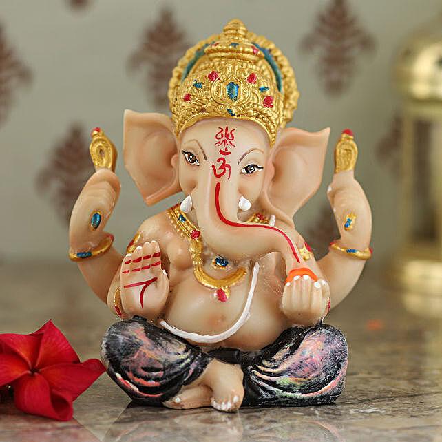 elegant lord ganesha idol