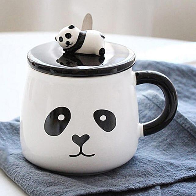 Buy Elegant Panda Coffee Mug  Online:Funny Gifts
