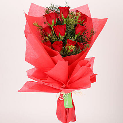 Online Red Roses Bouqet