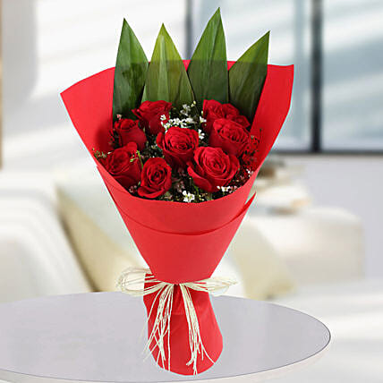 Roses Bunches Online:Designer Flower Bouquet