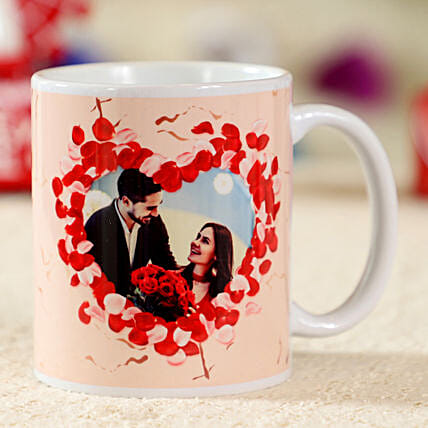 Enchanting White Personalised Mug