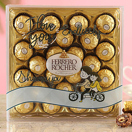 Endless Love Ferrero Rocher Box