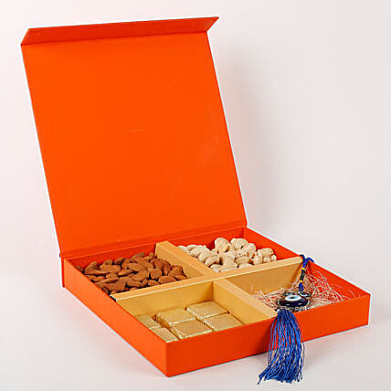 Diwali sweet surprise with evil eye