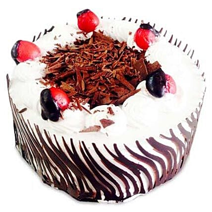 Exotic Blackforest Cake Half kg:Send Birthday Cakes to Mumbai