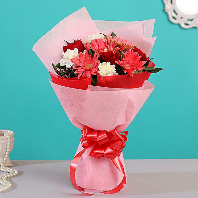 online auspicious flower bouquet