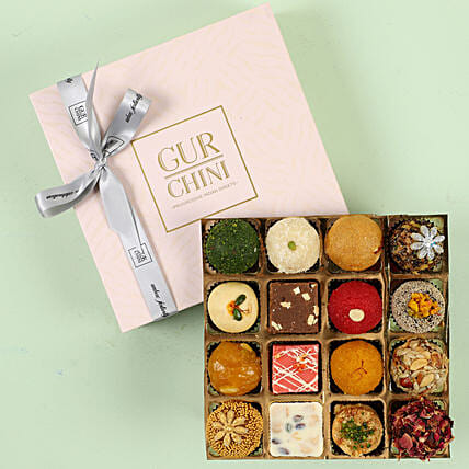 Exotic Mixed Mithai Box 16 Pcs