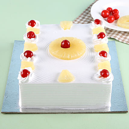 Exotic Pineapple Cake Half kg:Send Pineapple Cakes