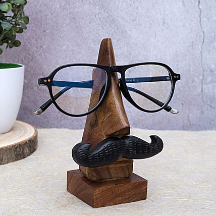 Wooden Eyeglass Holder for Men:Handcrafted Gifts