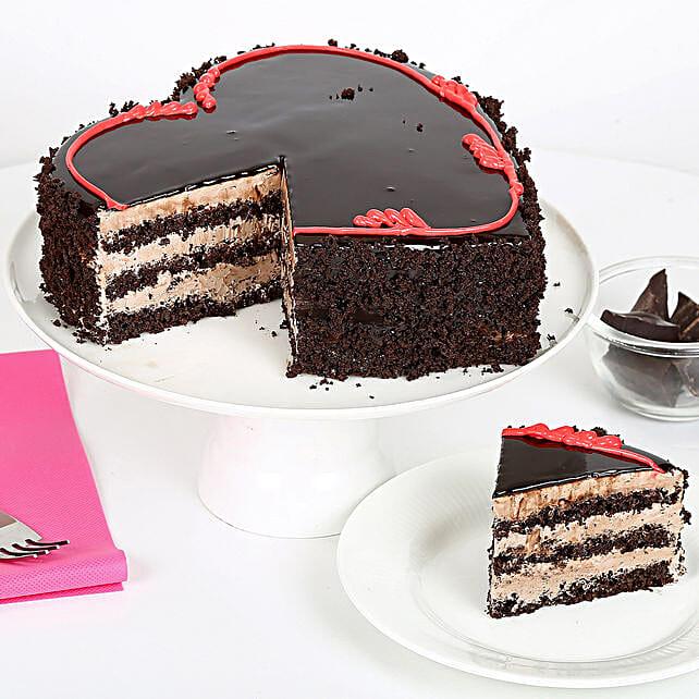 Fabulous Heart Cake half kg