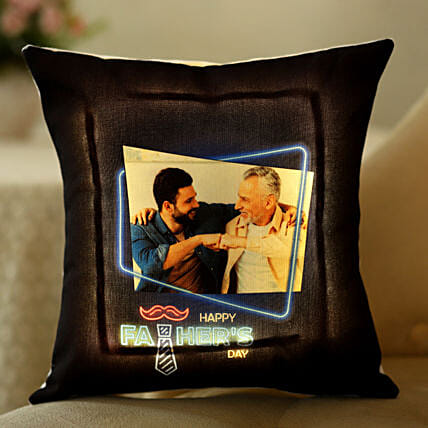 photo led cushion for dad