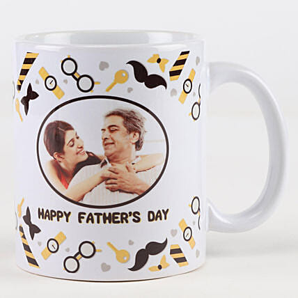 Father's Day Personalised Picture Mug