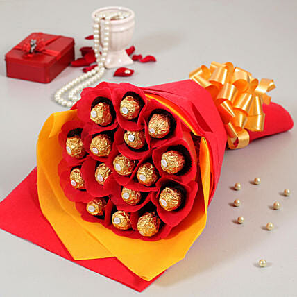 bouquet of forrero rocher online