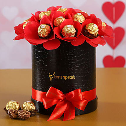 Ferrero Rocher Chocolates In FNP Signature Box
