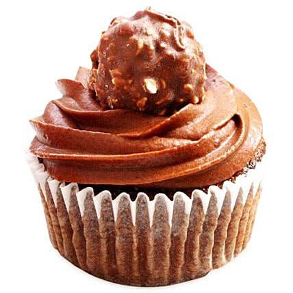 Ferrero Rocher Cupcake 6:Send Birthday Cake to Ludhiana