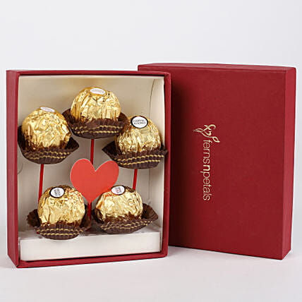 Ferrero Rocher in FNP Red Box:Ferrero Chocolate