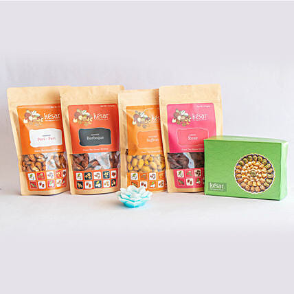 exclusive dry fruit hamper by kesar