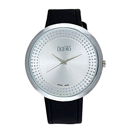 Fidato Black Daily Use Watch For Women:Buy Watches