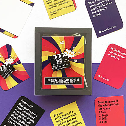 Filmy Feud Cards Game:Handicrafts