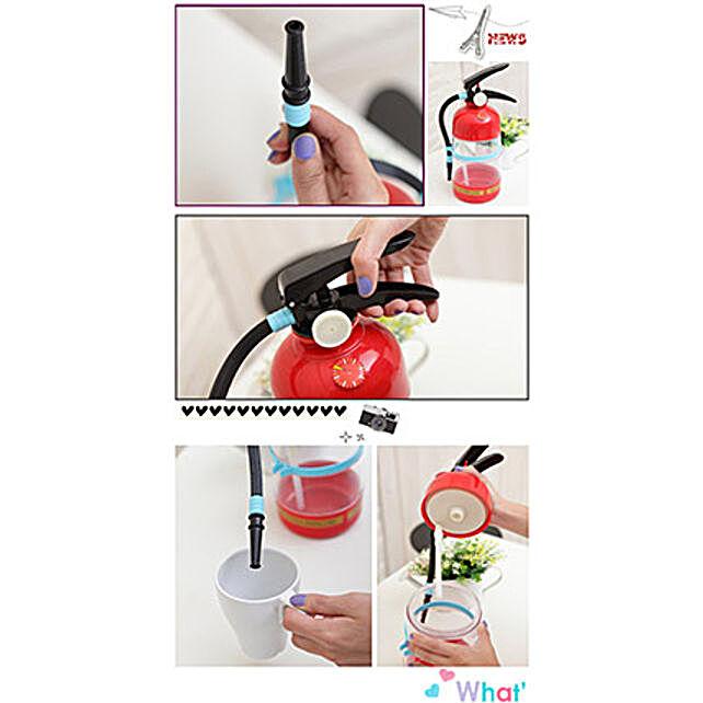 Fire Extinguisher Party Drink Dispenser