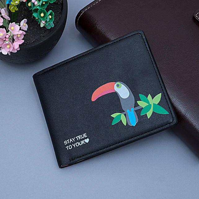 Black Wallet for Women's