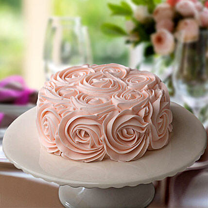 Rosy Pink Choco Cake:Mother's Day Designer Cakes