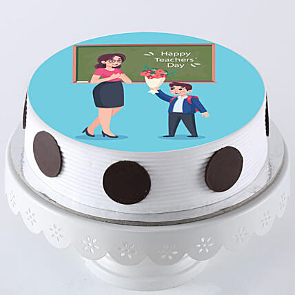 Online photo cake for teachers day