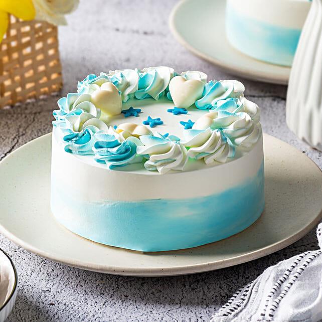 floral vanilla cake online