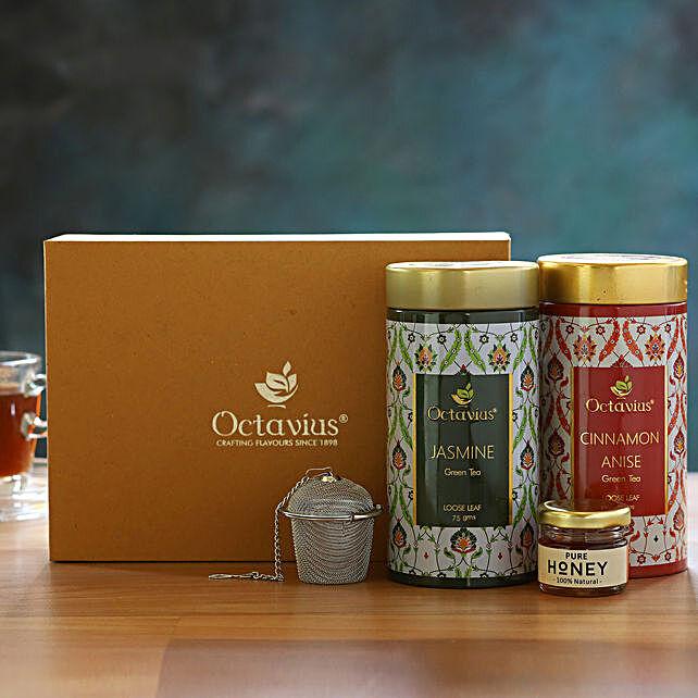Floral Wellness Gourmet Tea Gift Box