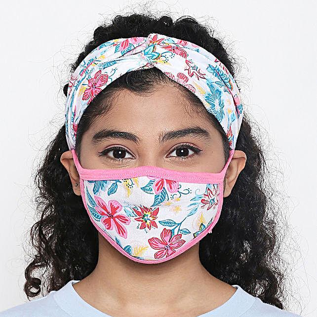 Online Flower Mask
