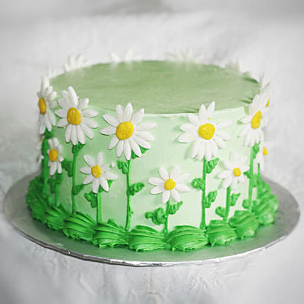 Floral Design Cake Online:Cakes for 60th Birthday