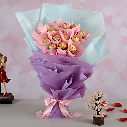 Ferrero Rocher Bouquet n Wish Tree