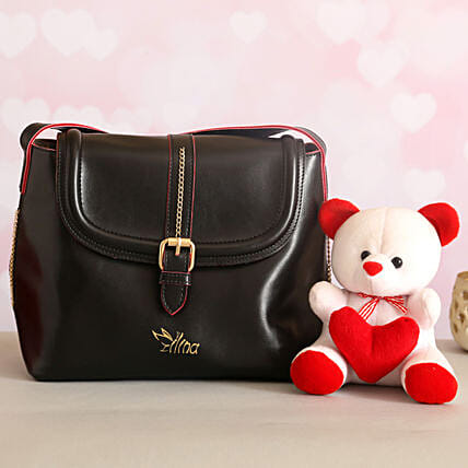 For Her Sling Bag Cute Teddy:Ilina Gift Sets