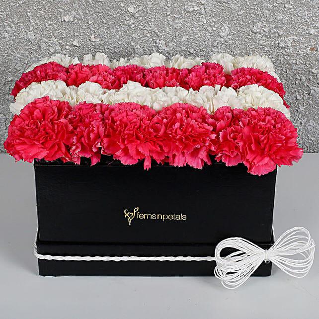 Attracive Arrangement of Carnations