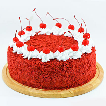 Fresh Red Velvet Cream Cake:Christmas Cakes