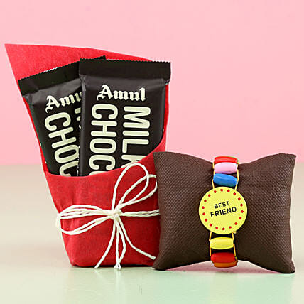 Online Friendship Band And Chocolate Bars