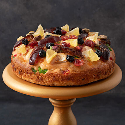 online fruit n nut cake online:Cakes to Firozpur