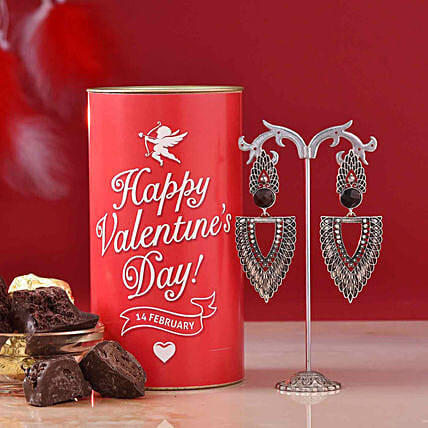 online jewellery n chocolate hamper