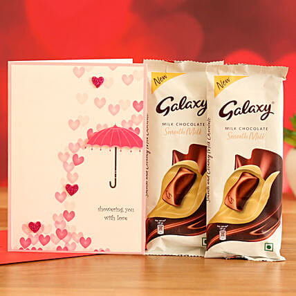 Online  Chocolates With Printed Table Top