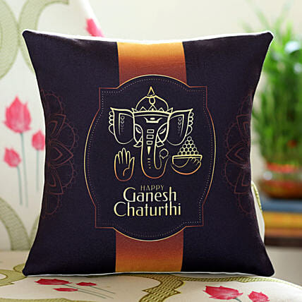 Online Personalised Ganesha Cushion